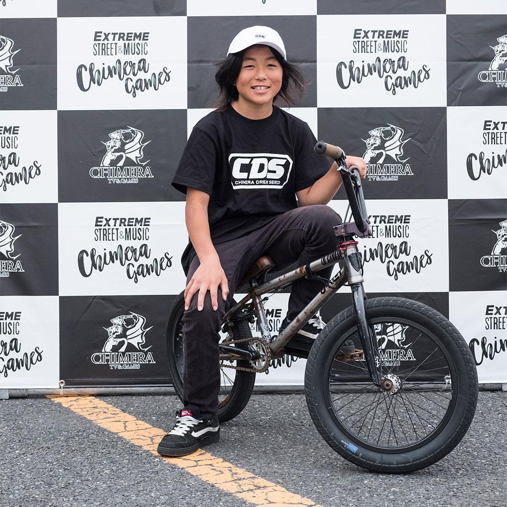 CHIMERA GAMESのコンテンツ:BMX-FreestyleParkライダー溝垣 丈司 JOJI