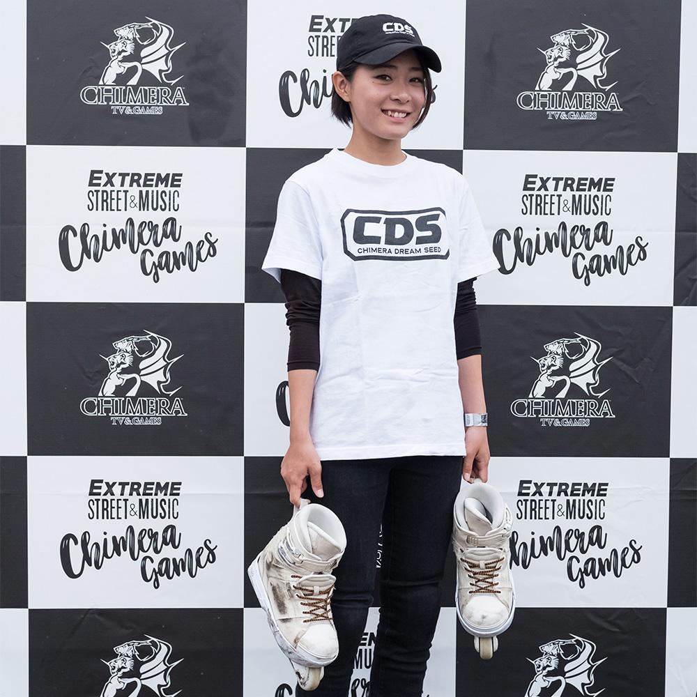 CHIMERA GAMESのコンテンツ:Inline-Skateライダー東千尋 CHIHIRO