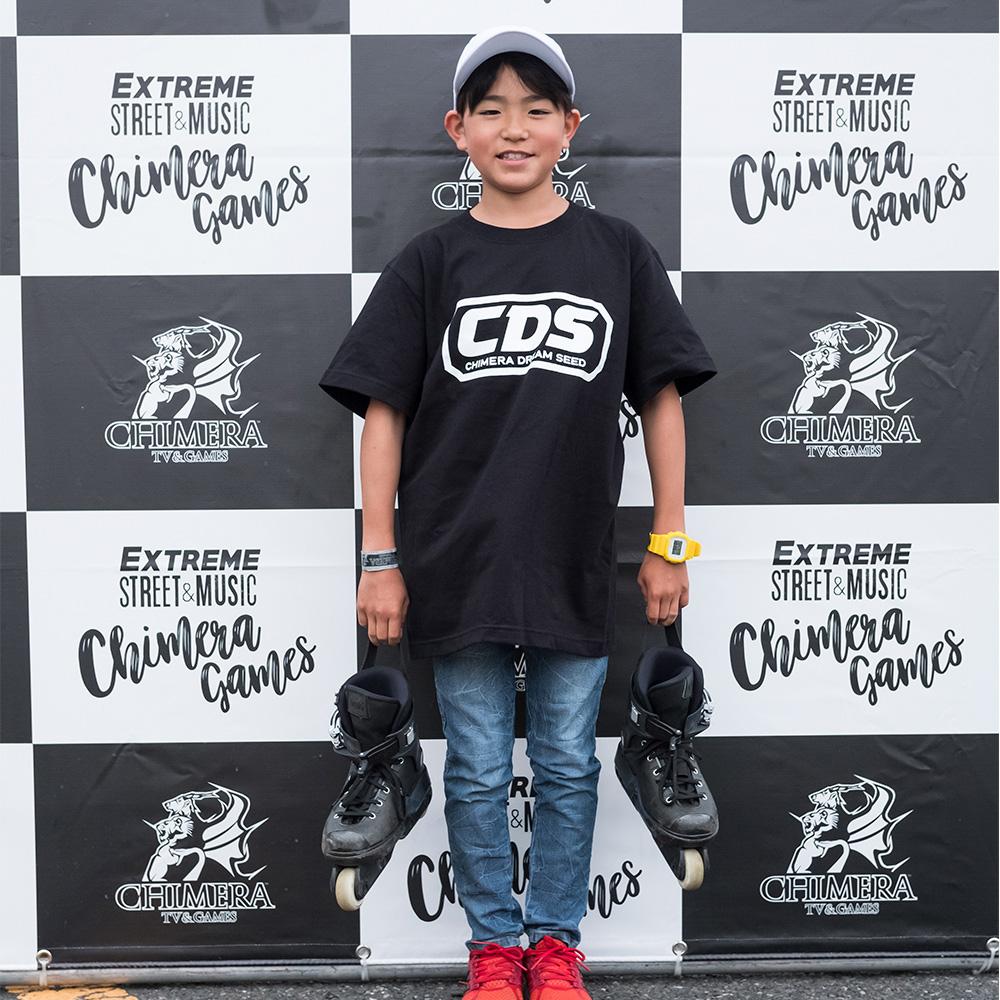 CHIMERA GAMESのコンテンツ:Inline-Skateライダー片山昂 SUBARU