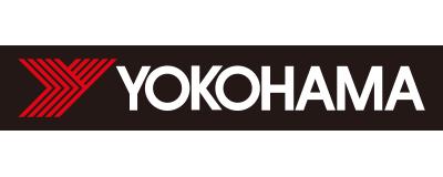 CHIMERA GAMESの協賛ロゴ:YOKOHAMA - ヨコハマタイヤ