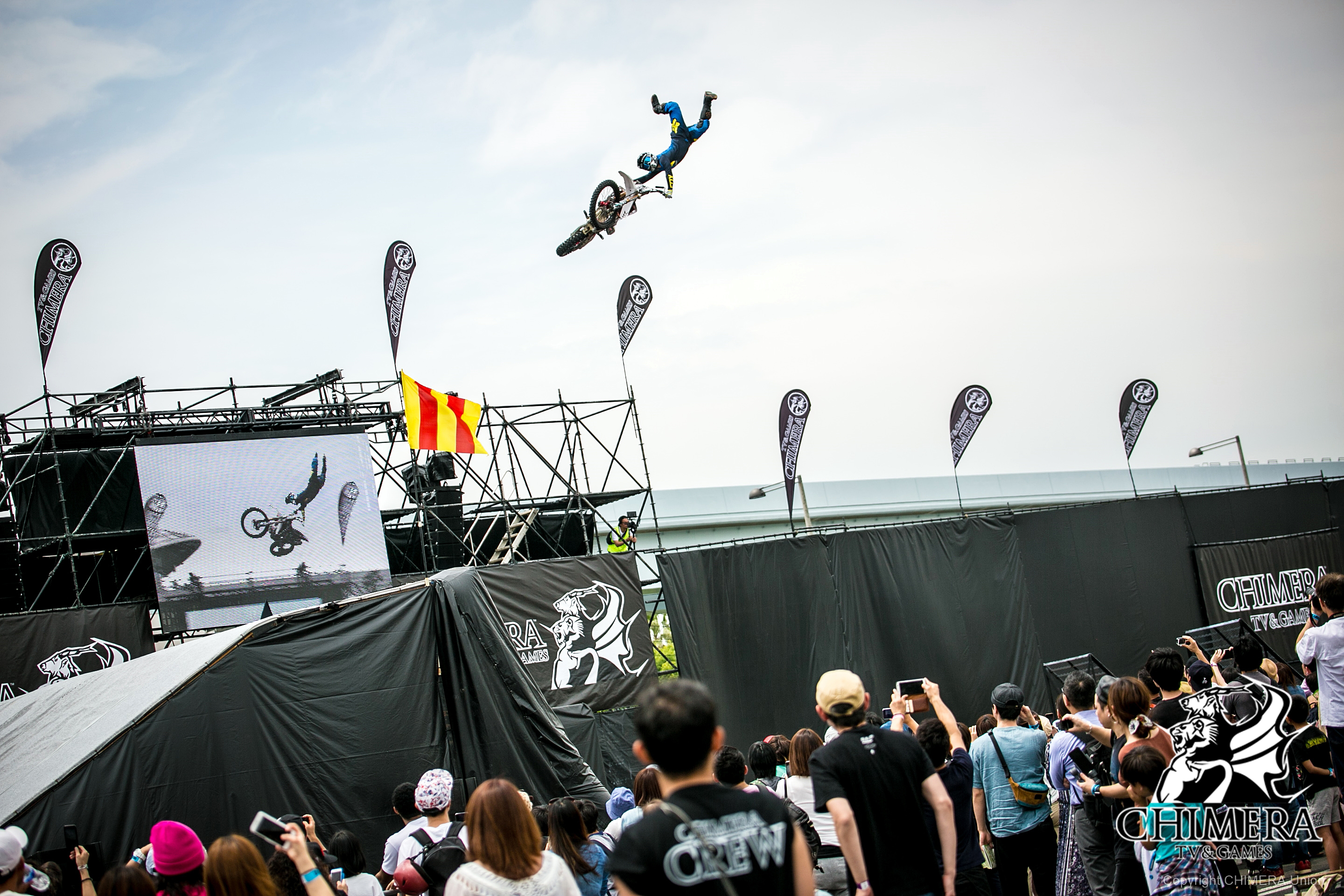 FMX、freestyle motocross