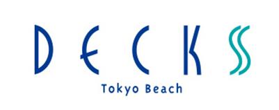CHIMERA GAMESの協賛ロゴ:DECKS Tokyo Beach