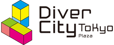 CHIMERA GAMESの協賛ロゴ:Diver City Tokyo Plaza